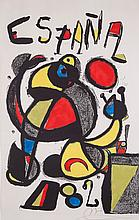 Joan Miró (1893-1983) - Copa del Mundo del Futbol - España 82