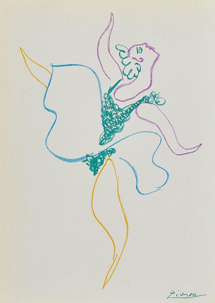 Pablo Picasso (1881-1973) - La Danseuse