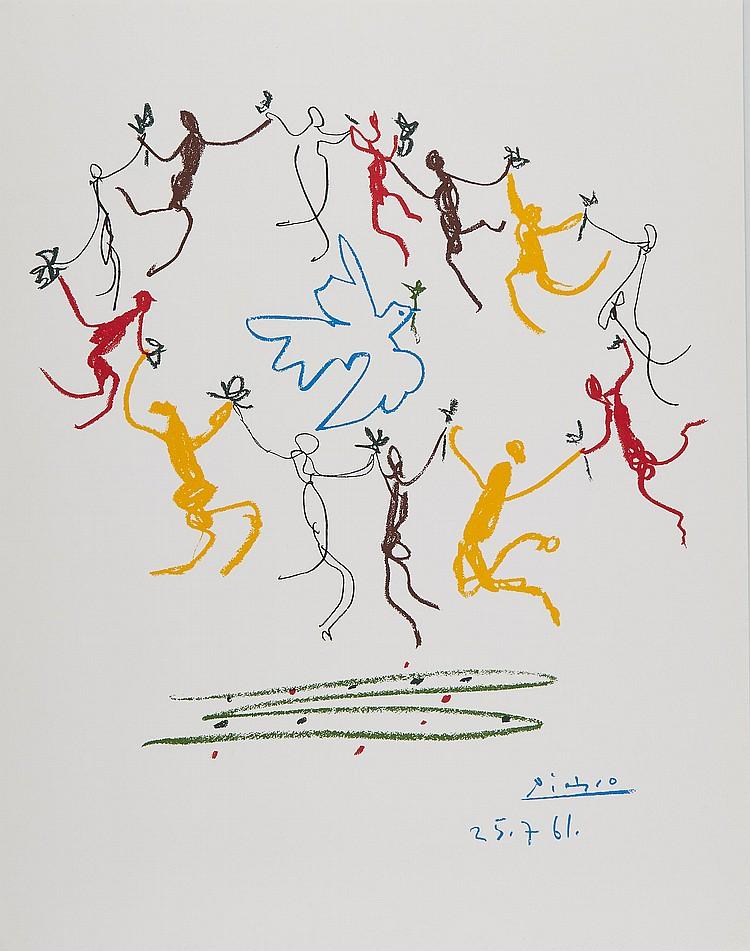 Pablo Picasso (1881-1973)(after) - Ronde de la Jeunesse