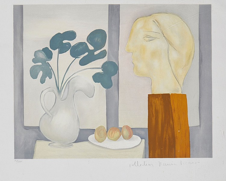 Pablo Picasso (1881-1973)(after) - Nature Morte a la Fenetre