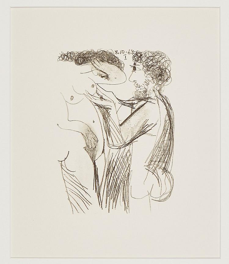 Pablo Picasso (1881-1973)(after) - Le Gout du Bonheur