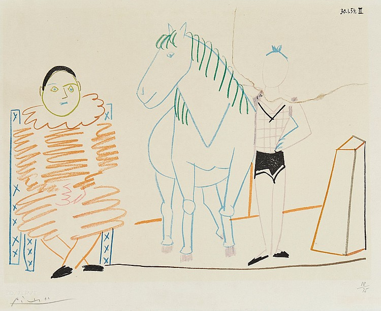 Pablo Picasso (1881-1973)(after) - Circus