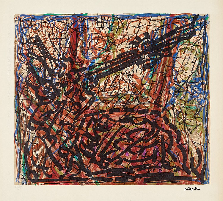 Jean Paul Riopelle (1923-2002) - Untitled