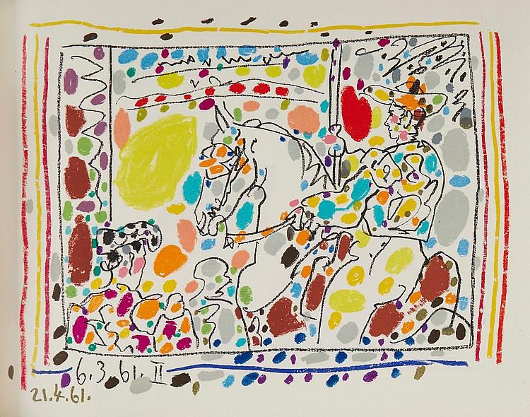 Pablo Picasso (1881-1973) - A Los Toros
