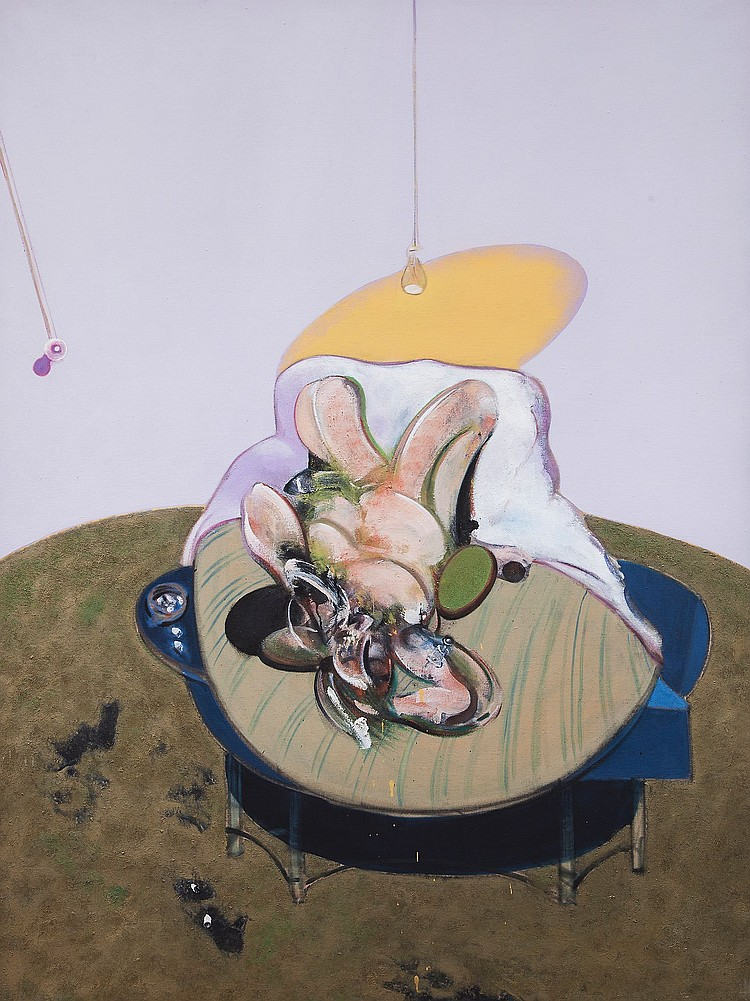 Francis Bacon (1909-1992)(after) - Lying Figure
