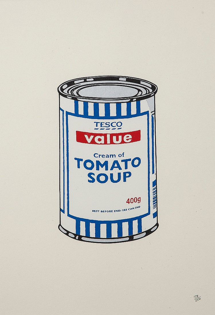 Banksy (b.1974) - Soup Can