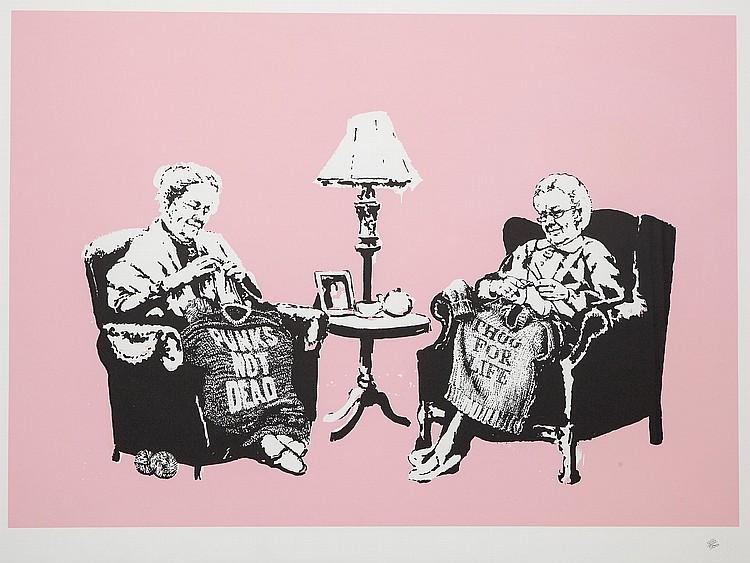 Banksy (b.1974) - Grannies