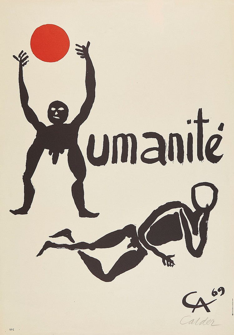 Alexander Calder (1898-1976) - Humanite