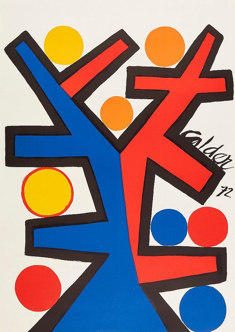 Alexander Calder (1898-1976) - Asymetrie