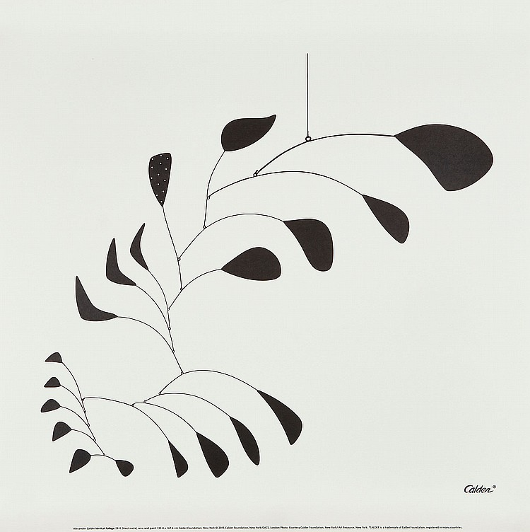 Alexander Calder (1898-1976)(after) - Vertical Foliage