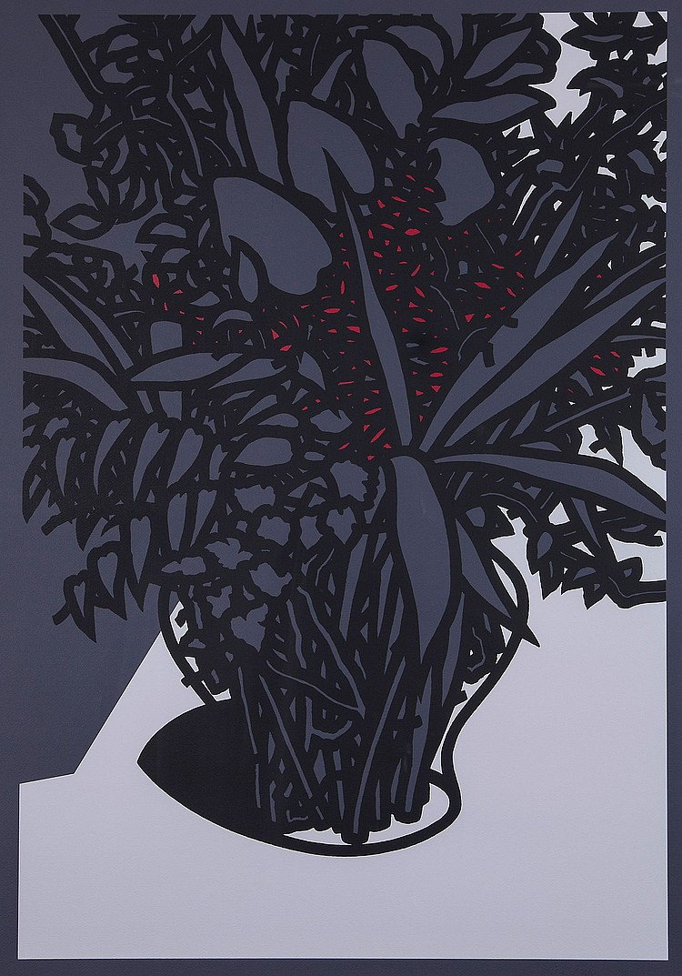 Patrick Caulfield (1936-2005) - For John Constable (C.47)