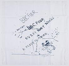 Tracey Emin (b.1963) - Everybody needs a place to think; Foundlings and Fledglings