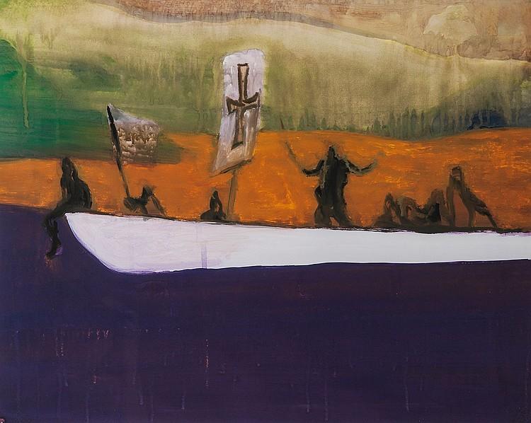 Peter Doig (b.1959) - Canoe