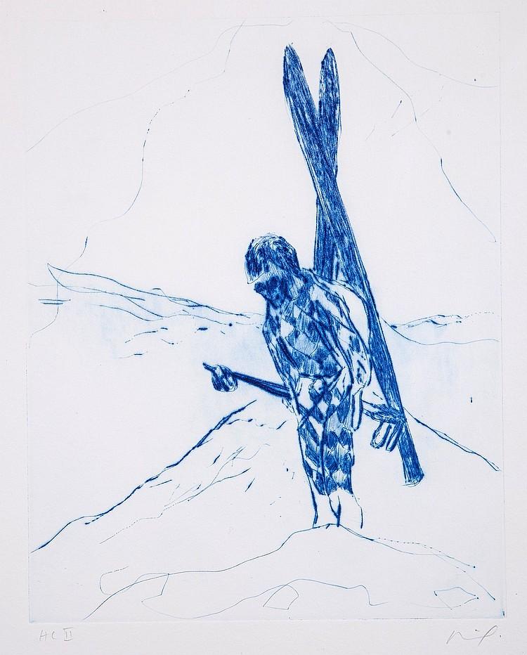 Peter Doig (b.1959) - The Wonders of Ski-ing