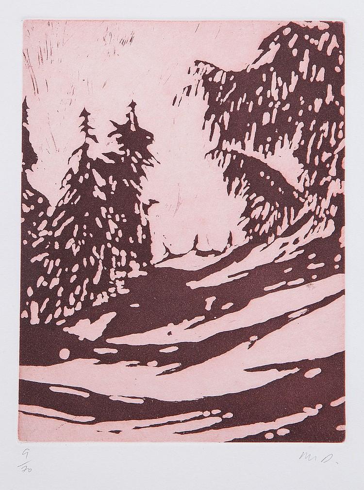 Peter Doig (b.1959) - Untitled (Winter)
