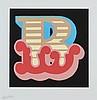 Ben Eine (b.1970) - B - Red,  Eine, £120