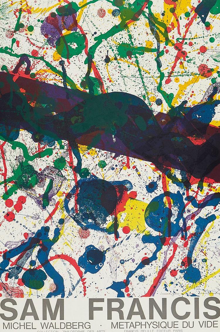 Sam Francis (1923-1994) - Metaphysique Du Vide (+2 other works)