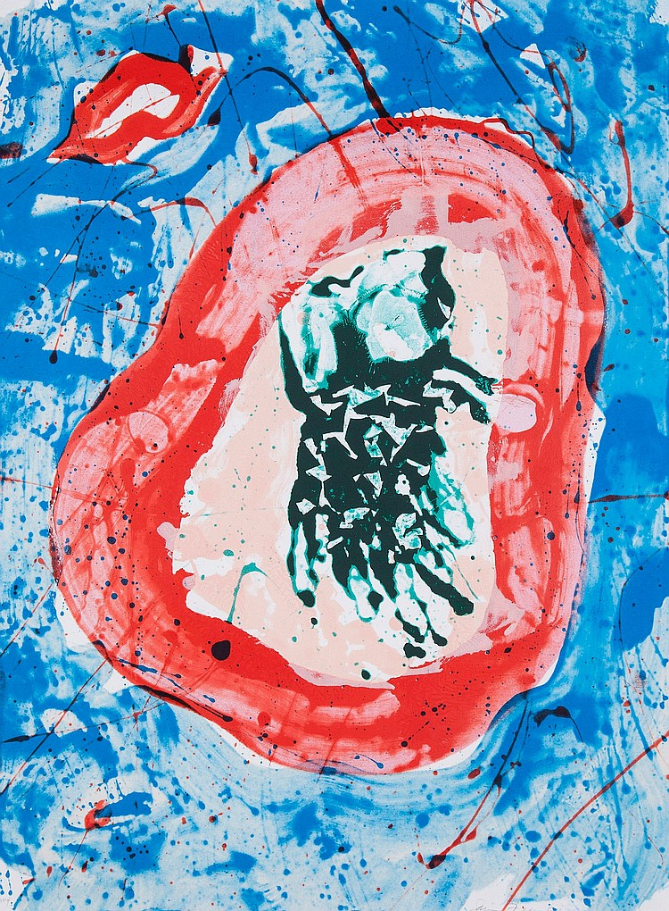 Sam Francis (1923-1994) - Untitled