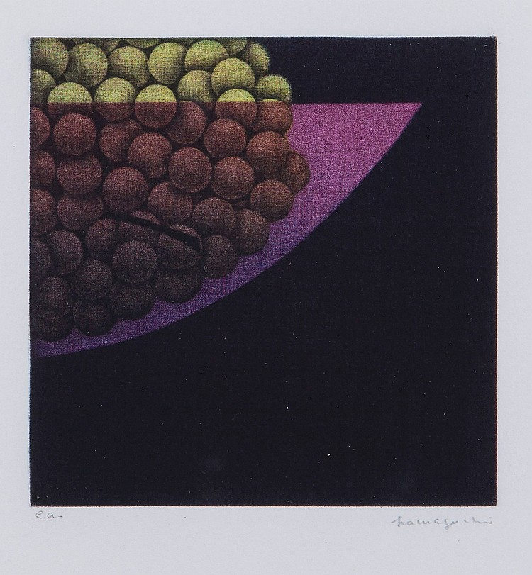 Yozo Hamaguchi (1909-2000) - Bowl of Grapes