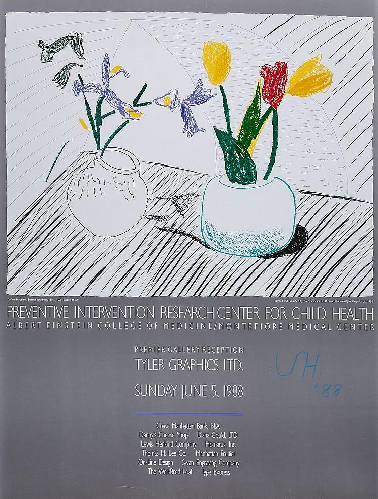 David Hockney (b.1937)(after) - Zeichnungen 1954-1994, Hamburger Kunsthalle