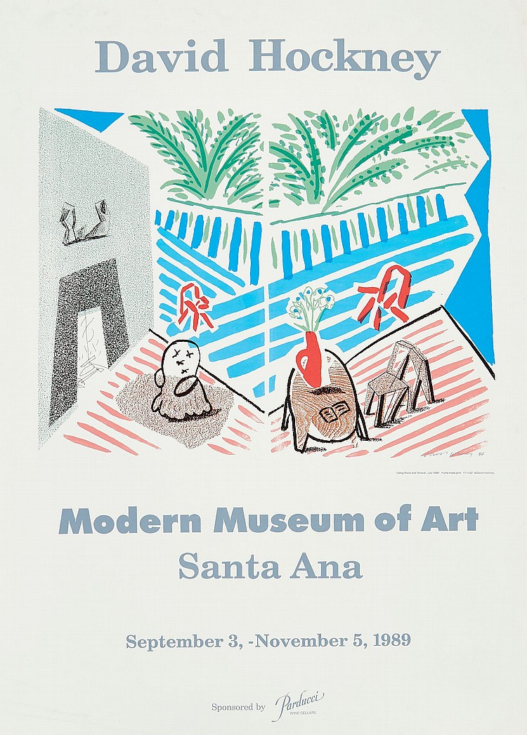 David Hockney (b.1937)(after) - Santa Ana