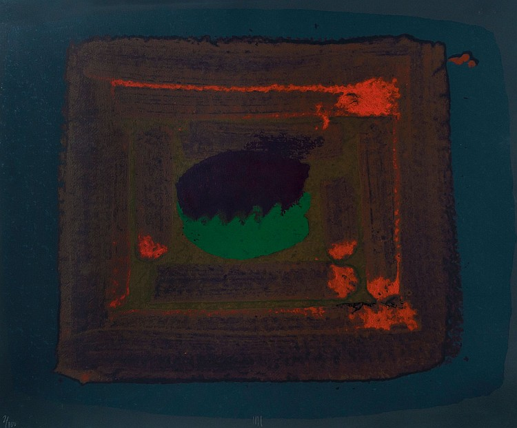 Howard Hodgkin (b.1932) - Tropic Fruit (H. P.222)
