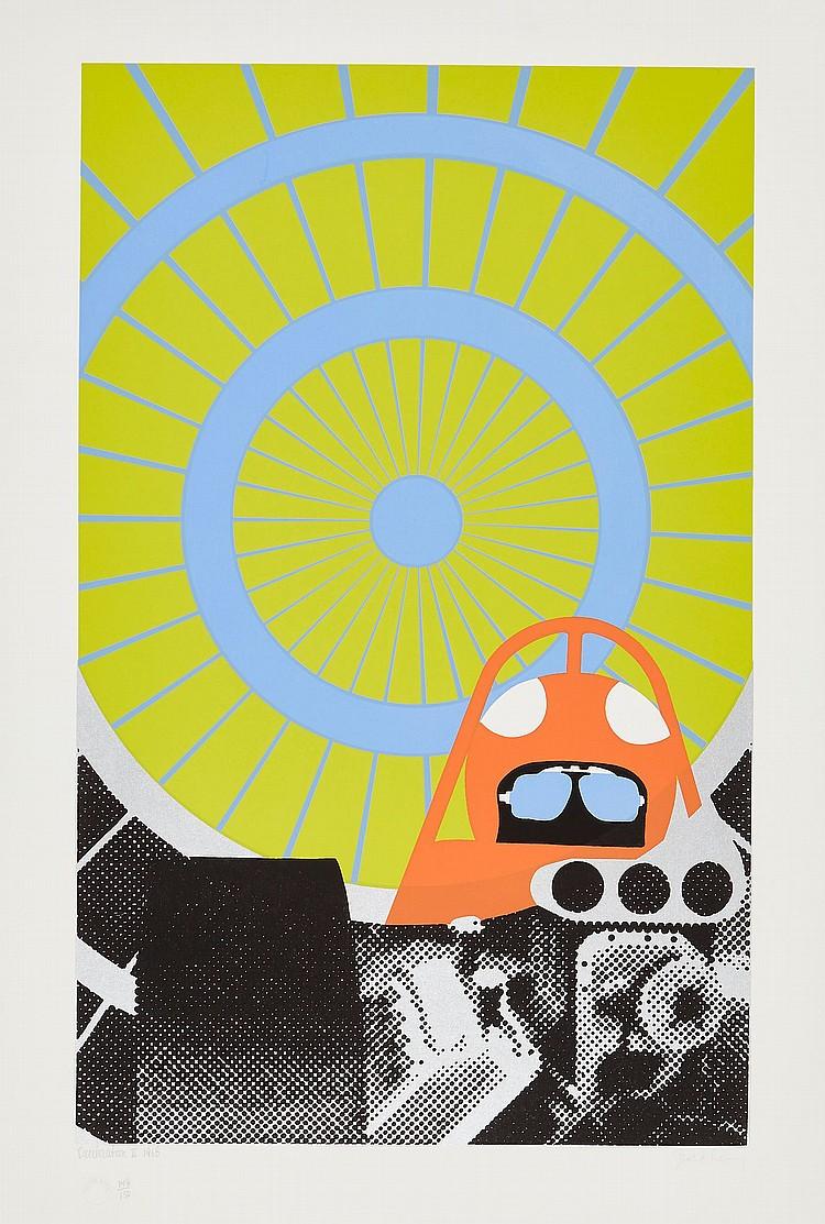 Gerald Laing (1936-2011) - Deceleration II (I.&H.21)