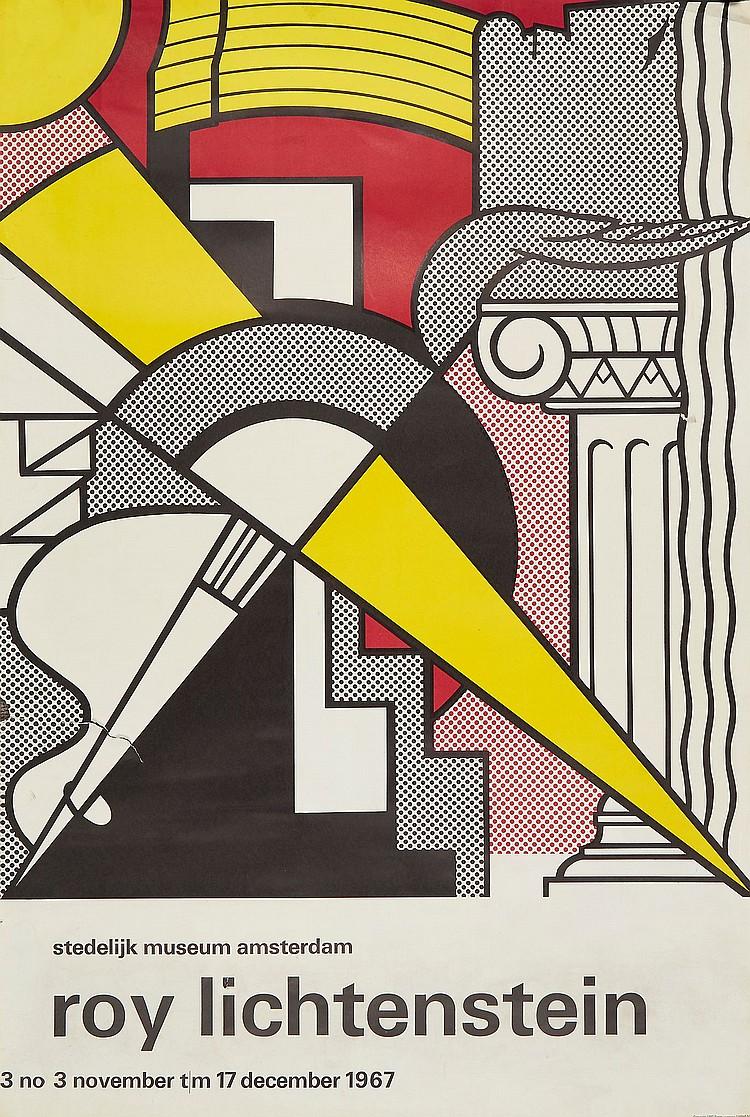 Roy Lichtenstein (1923-1997)(after) - Stedelijk Museum; Film Festival Philharmonic Hall (+2 other works)
