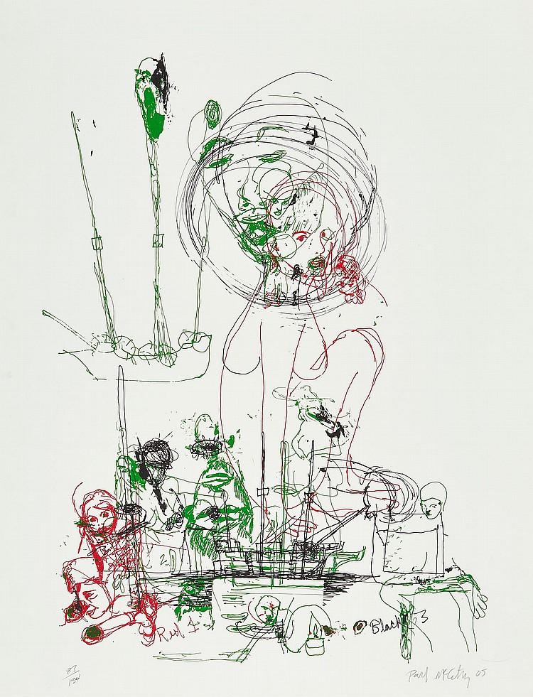 Paul Mccarthy (b.1945) - Red, Green, Black