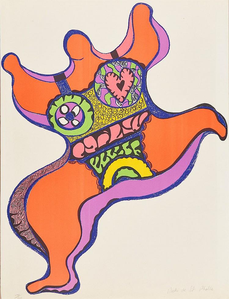 Niki de Saint Phalle (1930-2002) - Nana
