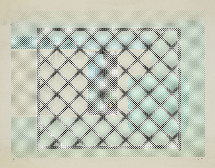 William Tillyer (b.1938) - Untitled (+2 other works)