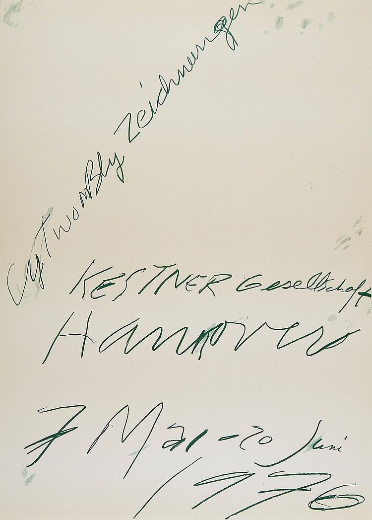 Cy Twombly (1928-2011)(after) - Kestner Gesellschaft, Hannover