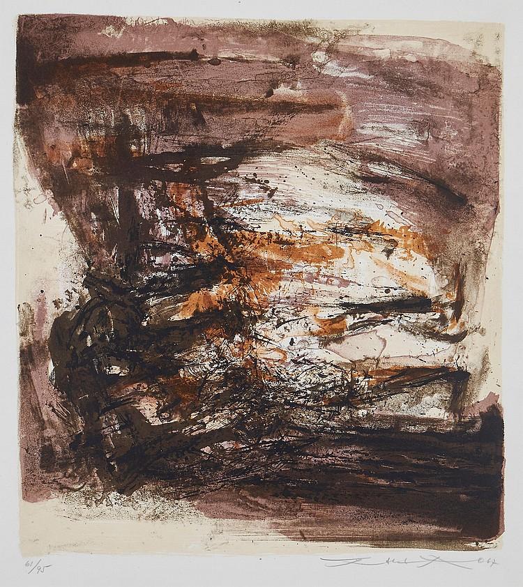 Zao Wou-Ki (1921-2013) - Untitled (R.169)