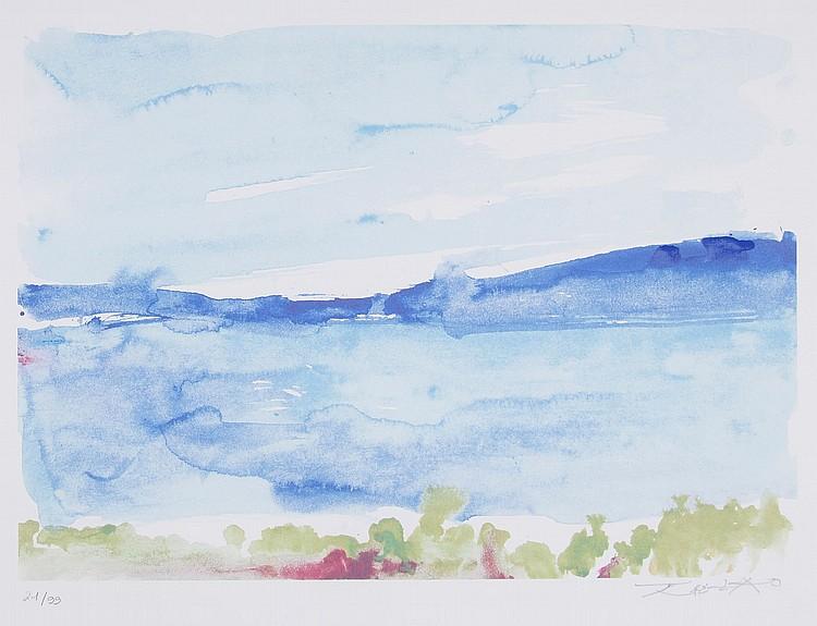 Zao Wou-Ki (1921-2013) - Ibiza - La Mer