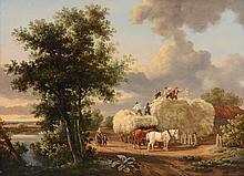 Charles Towne (1763-1840) - Haystacking