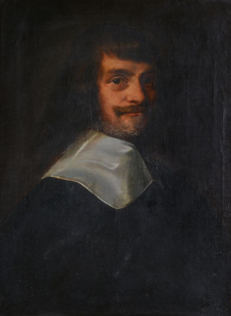 Dutch School (18th century) - Portrait of a gentleman