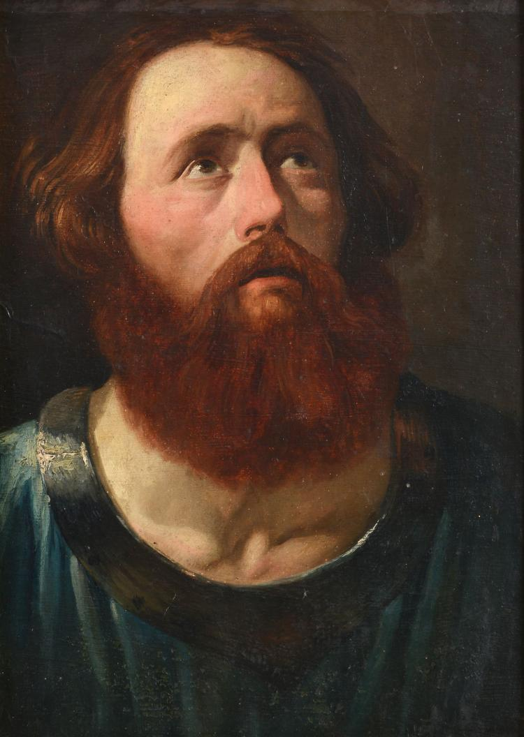 Manner of Van Dyck (1599-1641) - Portrait of a bearded saint