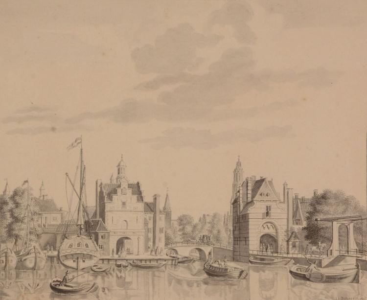 Joannis Jacobus Bijlaert (1734-1809) - View of Delft