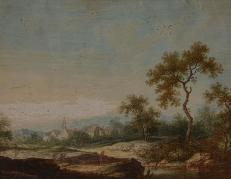 Flemish School (18th century) - Landscape