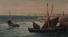 Alexander Young (1865-1923) - Cellar Dyke, Fife Coast,