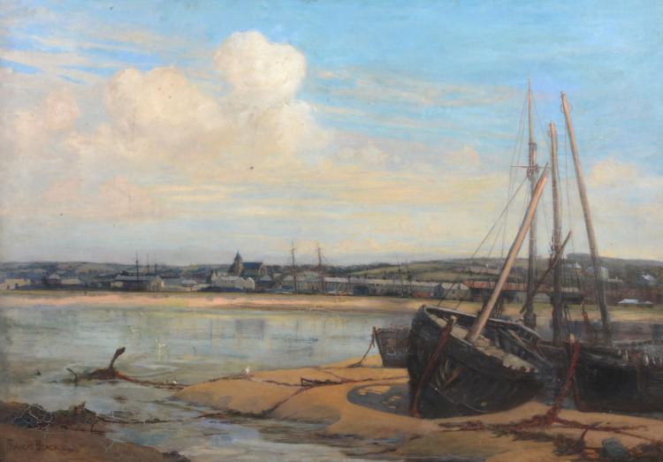 Francis Black (fl. 1890s) - A Cornish Estuary