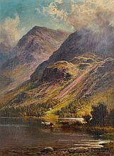 Charles Stuart (1854-1904) - Cattle in Lake Buttermere
