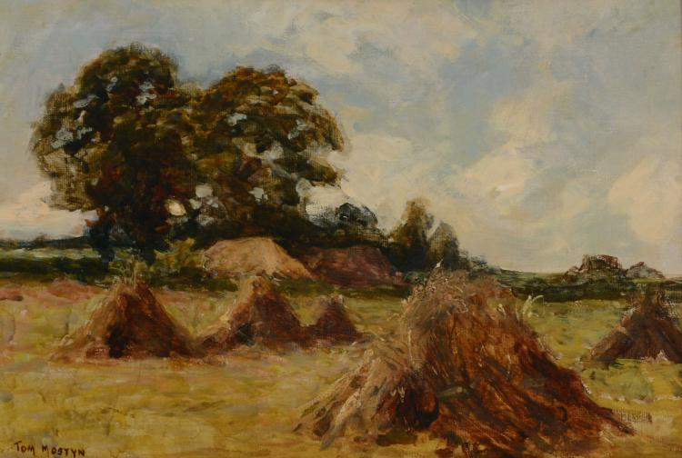 Tom Mostyn (1864-1930) - Harvest Low Mostyn