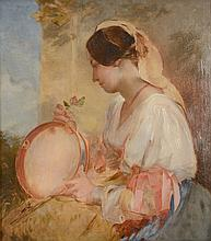 Att. William James Muller (1812-1845) - The Tambourine Player