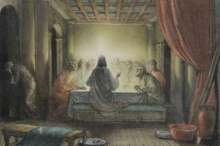 Rex John Whistler (1905 - 1944) - The Last Supper