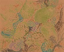 Nikos Hadjikyriakos Ghika (1906 - 1994) - Untitled (leaves)