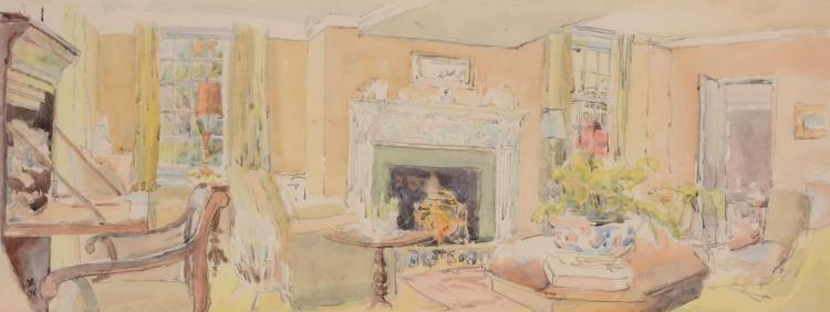 David Rolt (1915 - 1985) - Interior