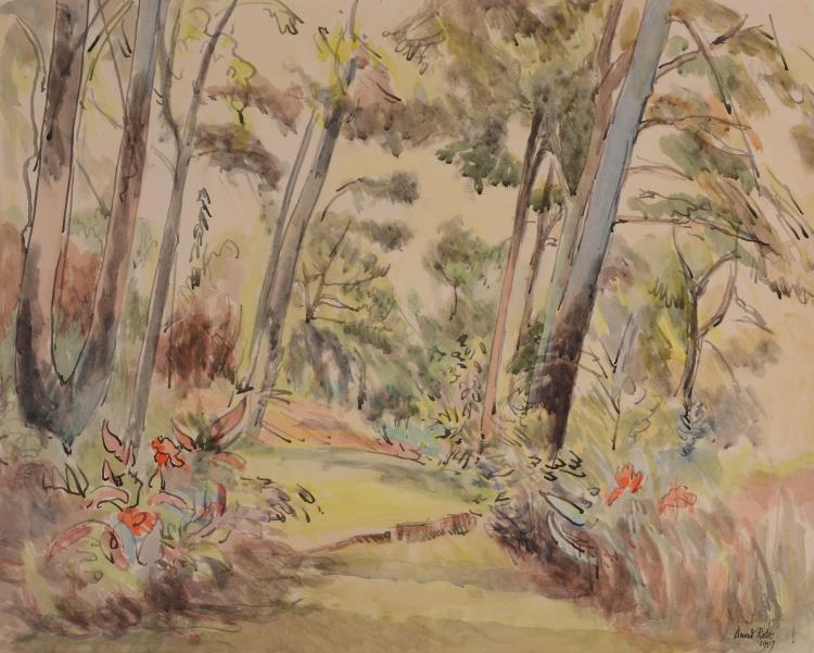 David Rolt (1915 - 1985) - Cap Ferrat Garden