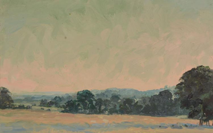 David Rolt (1915 - 1985) - Landscape, Audin