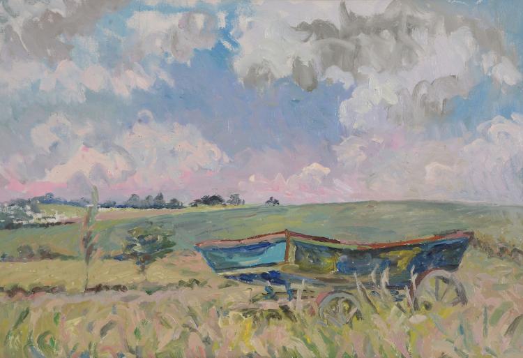 David Rolt (1915 - 1985) - Blue Cart